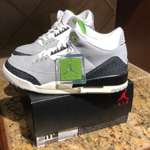 Air Jordan 3 Retro 🌿 Chlorophyll Sz11.5